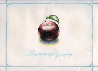 La Pomme by The-Seldom-Seen-Kid