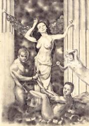 Venus Between Lust and Envy by The-Seldom-Seen-Kid