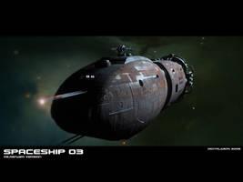 Spaceship 03 by GeneralPeer