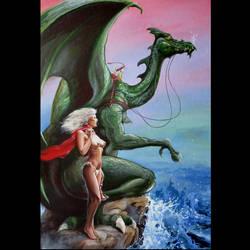 Dragon Girl by Bisat
