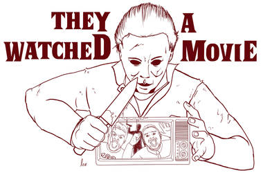 Michael Myers - They Watched a Movie Final art by LeHongito