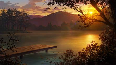 Lake by andanguyen
