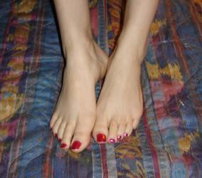 foot stock 01 by jabbi