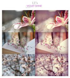 LT's Violet Shine Action by Lady-Tori