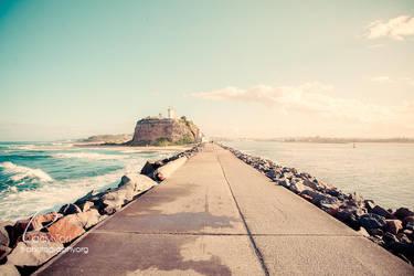 Vintage Beach by Lady-Tori