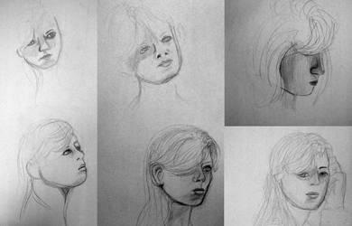 Portraits 1 by cardcaptorclaire
