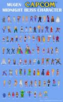 Midnight Bliss Characters by simpleguyfa