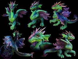 Dragon Sculpture by cryztaldreamz