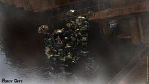 Elite Mecha Hunter Unit by AOGRAI