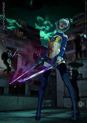 Cyber-Shinigami - Bleach Influence by AOGRAI