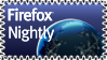 Firefox Nightly Stamp by KenSaunders