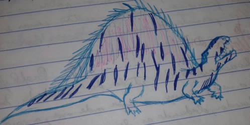 Dimetrodon by Jurassic-Diary