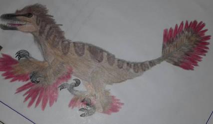 Three years ago-  #3 The Utahraptor by Jurassic-Diary