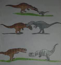 Three years ago-  #4 The family is formed by Jurassic-Diary