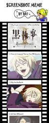 KuroshitsuijII Screenshot Meme by AmyRose132435465768