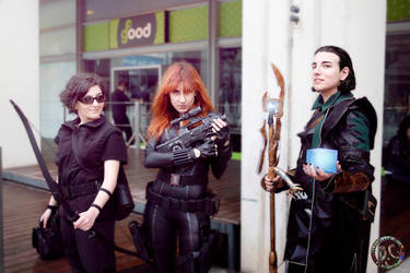 Loki - Black Widow - Hawkeye by Kalavel-Loki