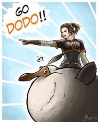 Dodo, I choose you! by Iruno