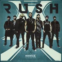 MONSTA X - The 2nd Mini Album : Rush by DiYeah9Tee4