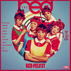 Red Velvet - The 1st Album : The Red by DiYeah9Tee4