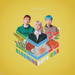 CBX - The 2nd Mini Album : Blooming Days by DiYeah9Tee4