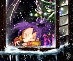 Alice's special Santa by MissFuturama