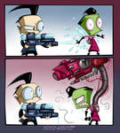 Squirt Gun of Doom colored by MissFuturama