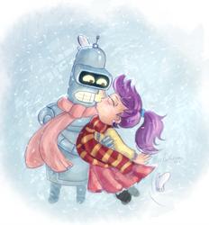 Snowin Lovin by MissFuturama