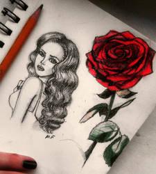 Beauty and Rose by MissFuturama