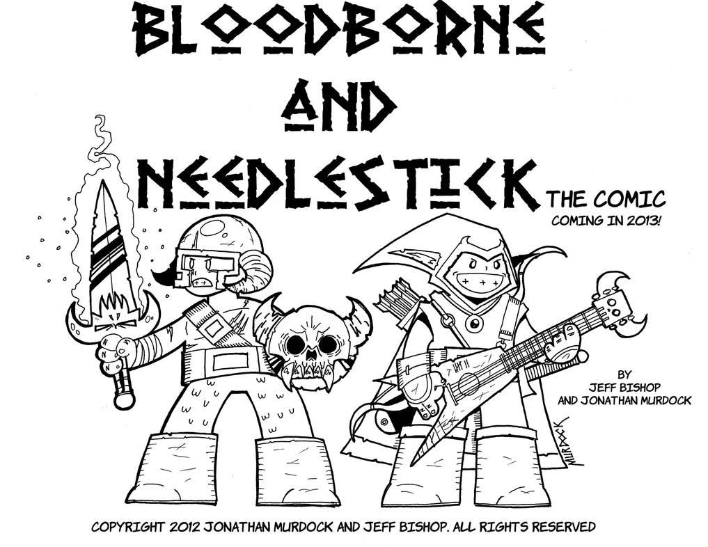 Bloodborne and Needlestick 1 by Dungeonhordes