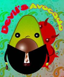 Devil's Avocado by mirhiel