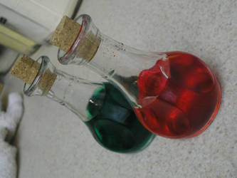 Link's Potions by merricontrari