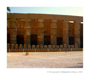 Karnak Temple 2 by specialsally