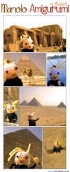 Manolo Amigurumi, in Egypt by specialsally