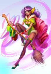 New Year Witch by Znayduk
