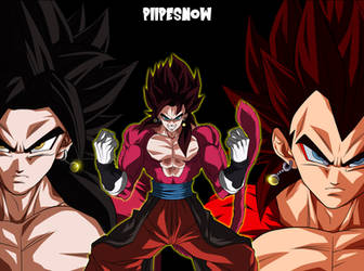 Vegetto ssj4 by PiiPeSnOw
