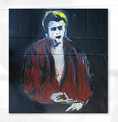 James Dean by Joe-Wood-Stencil-Art
