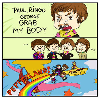 The Beatles Grab my... by Christine-san