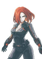 Natasha Romanoff by Lee-JenG