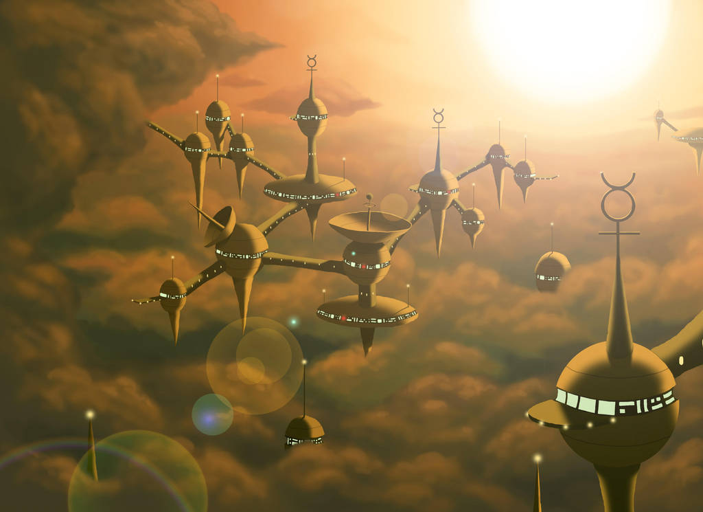 The Planets - Mercury - Environment concept by DoctorChevlong