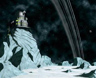 The Planets - Uranus - Environment concept by DoctorChevlong