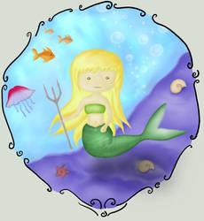 Mermaid by vikky1991