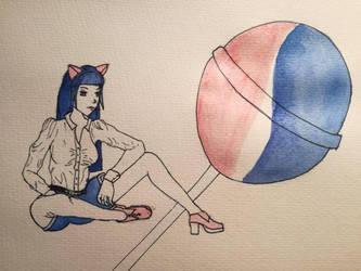 Pepsi girl by Deathilya