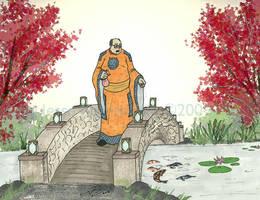 Lord Zando, Water Garden by LavenderBlade