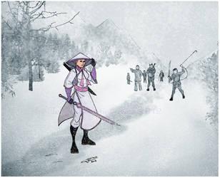 JC Fox- Winter challengers by LavenderBlade