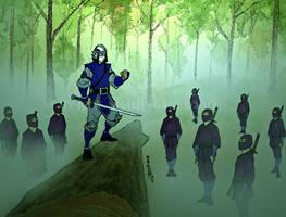 Dark O Fu and Kogasuma ninjas by LavenderBlade