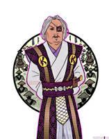 General Fuji- Kogasuma Supreme General by LavenderBlade
