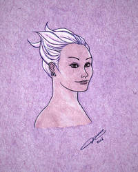 JC Fox sketch by LavenderBlade