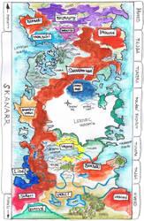 Map of Skanaerr by Skanaerrian