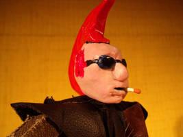 Punk - character puppet detail by Skanaerrian
