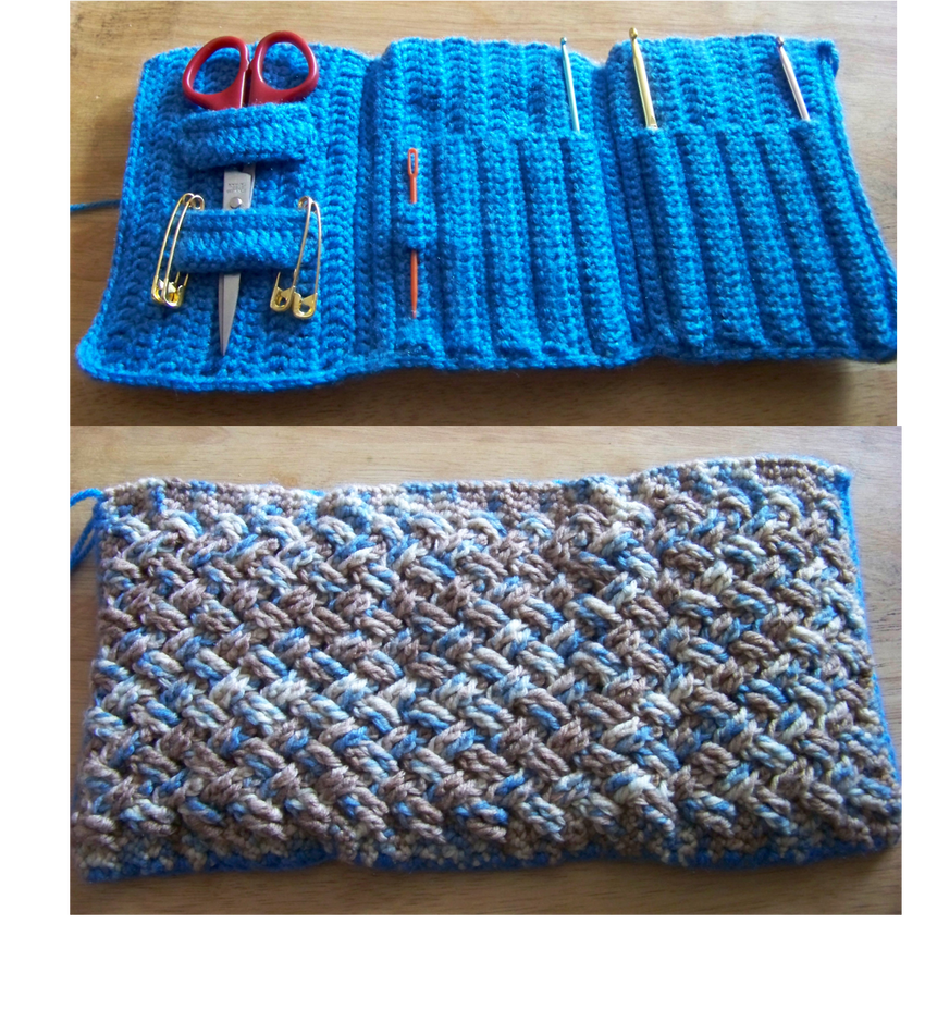 Wip Celtic Crochet Hook Case By Aurora Bloodshard On Deviantart